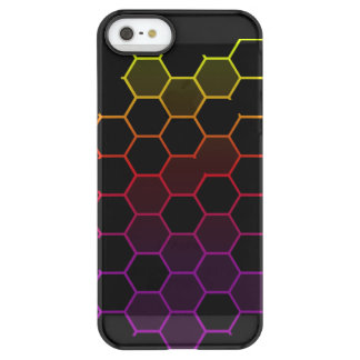 Funda Permafrost® Para iPhone SE/5/5s Maleficio del color en negro