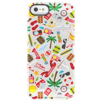 Funda Permafrost® Para iPhone SE/5/5s Mar del sur del viaje de las vacaciones de verano