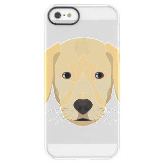 Funda Permafrost® Para iPhone SE/5/5s Perrito Retriver de oro del ilustracion
