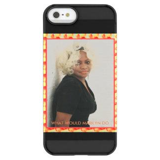 FUNDA PERMAFROST® PARA iPhone SE/5/5s QUÉ MARILYN HARÍA…. ¡DEJE EL TEXTO DE LOS E.E.U.U.