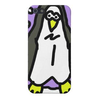 Funda-Pingüino del animal del iPhone 4 iPhone 5 Cárcasa