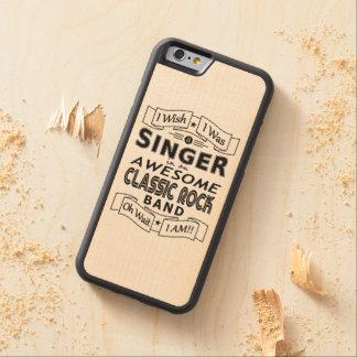 Funda Protectora De Arce Para iPhone 6 De Carved Banda de rock clásica impresionante del CANTANTE