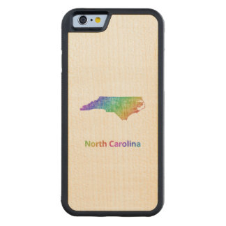 Funda Protectora De Arce Para iPhone 6 De Carved Carolina del Norte