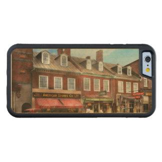 Funda Protectora De Arce Para iPhone 6 De Carved Ciudad - MD de Easton - una parte de la vida
