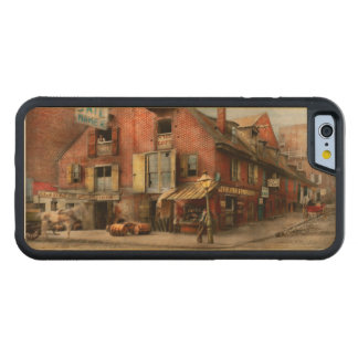 Funda Protectora De Arce Para iPhone 6 De Carved Ciudad - PA - pescados y disposiciones 1898