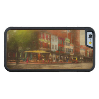 Funda Protectora De Arce Para iPhone 6 De Carved Ciudad - Washington DC - vida en 7mo St 1912
