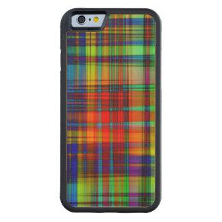 Funda Protectora De Arce Para iPhone 6 De Carved El extracto colorido raya arte
