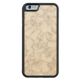 Funda Protectora De Arce Para iPhone 6 De Carved Fondo veteado del modelo de la piedra del mármol