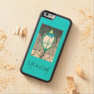 Funda Protectora De Arce Para iPhone 6 De Carved … Hoja (delgada)