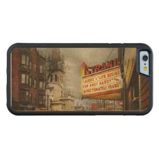 Funda Protectora De Arce Para iPhone 6 De Carved La ciudad - Amsterdam NY - vida comienza 1941