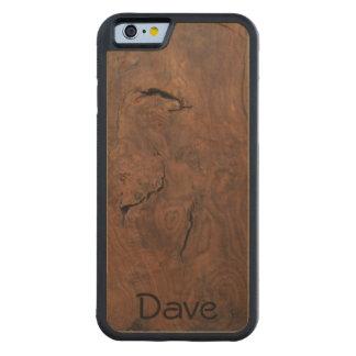 Funda Protectora De Arce Para iPhone 6 De Carved La nuez en arce talló el caso de madera del iPhone