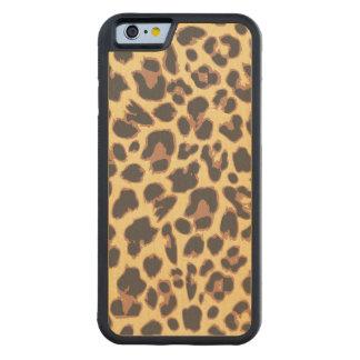 Funda Protectora De Arce Para iPhone 6 De Carved Modelos de la piel animal del estampado leopardo