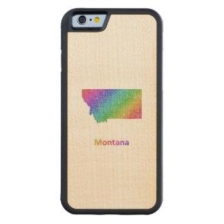 Funda Protectora De Arce Para iPhone 6 De Carved Montana