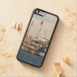 Funda Protectora De Arce Para iPhone 6 De Carved Plataforma petrolera