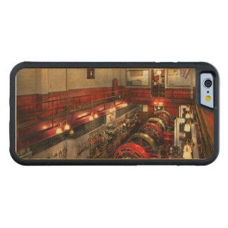 Funda Protectora De Arce Para iPhone 6 De Carved Steampunk - la sala de máquinas 1974