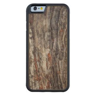 Funda Protectora De Arce Para iPhone 6 De Carved Textura de la corteza de árbol