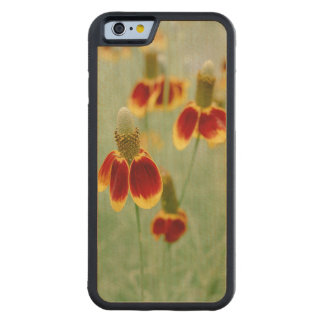Funda Protectora De Arce Para iPhone 6 De Carved Wildflowers de Tejas del gorra mexicano