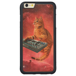 Funda Protectora De Arce Para iPhone 6 Plus De Car el gato suena - gato - los gatos divertidos -