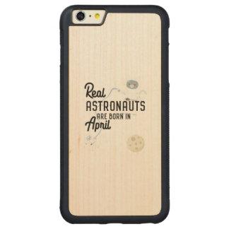 Funda Protectora De Arce Para iPhone 6 Plus De Car Los astronautas son en abril Zg6v6 nacidos