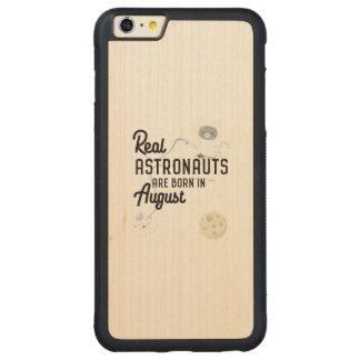 Funda Protectora De Arce Para iPhone 6 Plus De Car Los astronautas son en agosto Ztw1w nacidos