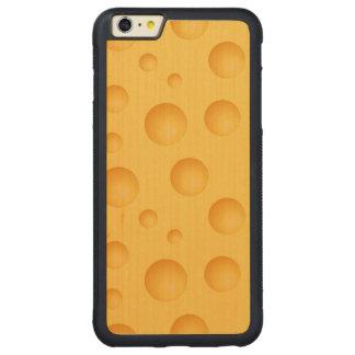 Funda Protectora De Arce Para iPhone 6 Plus De Car Modelo amarillo del queso