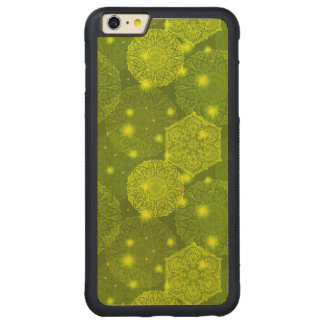 Funda Protectora De Arce Para iPhone 6 Plus De Car Modelo de lujo floral de la mandala