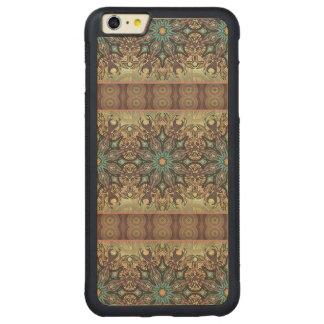 Funda Protectora De Arce Para iPhone 6 Plus De Car Modelo floral étnico abstracto colorido de la