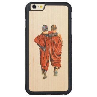 Funda Protectora De Arce Para iPhone 6 Plus De Car Monjes budistas