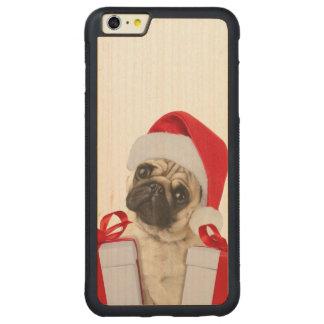 Funda Protectora De Arce Para iPhone 6 Plus De Car Regalos del barro amasado - perro Claus - barros