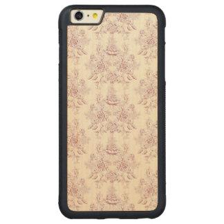 Funda Protectora De Arce Para iPhone 6 Plus De Car Victorian, suavemente amarillo, suavemente rosa,