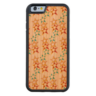 FUNDA PROTECTORA DE CEREZO PARA iPhone 6 DE CARVED