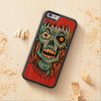 Funda Protectora De Cerezo Para iPhone 6 De Carved a