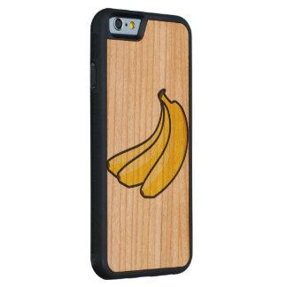 Funda Protectora De Cerezo Para iPhone 6 De Carved caja de madera de la cereza de parachoques del
