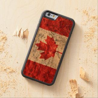 Funda Protectora De Cerezo Para iPhone 6 De Carved Caja de madera del teléfono del estilo de la