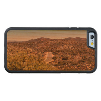 Funda Protectora De Cerezo Para iPhone 6 De Carved Camino solo del desierto de la yuca