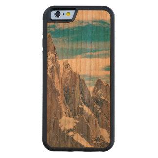 Funda Protectora De Cerezo Para iPhone 6 De Carved Cerro Torre Parque Nacional Los Glaciares