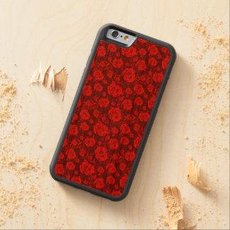 Funda Protectora De Cerezo Para iPhone 6 De Carved color de rosa