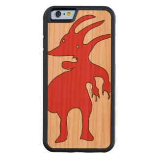 Funda Protectora De Cerezo Para iPhone 6 De Carved Criatura grotesca aislada