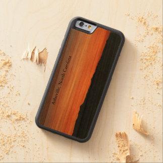 Funda Protectora De Cerezo Para iPhone 6 De Carved cubierta del iphone con diseño de la puesta del