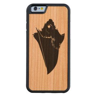 Funda Protectora De Cerezo Para iPhone 6 De Carved Cuervo