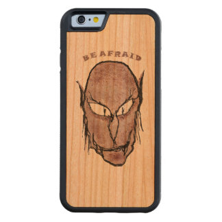 Funda Protectora De Cerezo Para iPhone 6 De Carved Dibujo asustadizo del vampiro