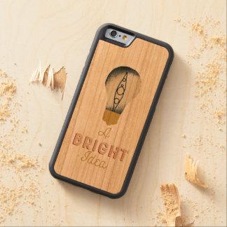 Funda Protectora De Cerezo Para iPhone 6 De Carved El Kayaking es siempre una idea brillante