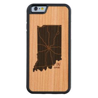 Funda Protectora De Cerezo Para iPhone 6 De Carved En caso de que