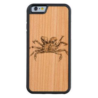 Funda Protectora De Cerezo Para iPhone 6 De Carved Foto oscura del cangrejo
