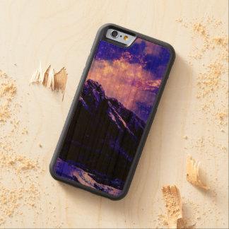Funda Protectora De Cerezo Para iPhone 6 De Carved Matanuska vernal