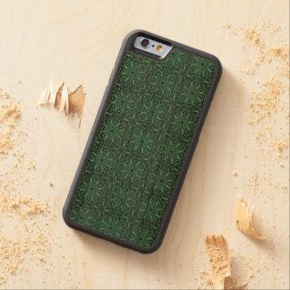 Funda Protectora De Cerezo Para iPhone 6 De Carved Modelo antiguo real de lujo floral