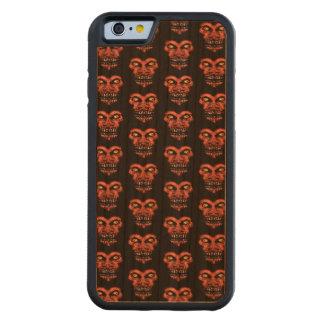 Funda Protectora De Cerezo Para iPhone 6 De Carved Modelo conversacional oscuro