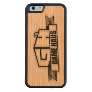 Funda Protectora De Cerezo Para iPhone 6 De Carved Teléfono de GameHAUS - quemadura de madera