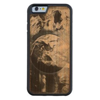 Funda Protectora De Cerezo Para iPhone 6 De Carved Tierra