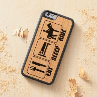 Funda Protectora De Cerezo Para iPhone 6 De Carved Un caballo del jinete de lomo de caballo (coma el